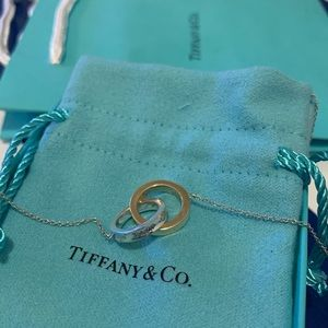 Tiffany and Co. Interlocking Circles Necklace :)